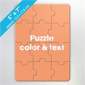 Custom Invitation Or Card Puzzle