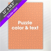 Double Sided Custom Puzzle For Puzzle Supplier