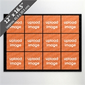 Design Own Black Photo Collage Puzzle With 12 Pictures