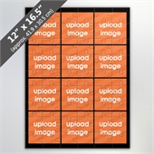 Design Own Black Photo Collage Puzzle With 12 Photos