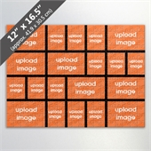 Design Own Black Photo Collage Puzzle With 20 Photos