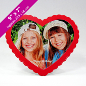 Custom Heart Shaped Picture Puzzle For Father's Day