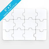 5X7 Blank Invitation Puzzle (12 Pieces)