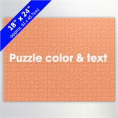 Create Own 24 X 18 Inch Puzzle For Retail