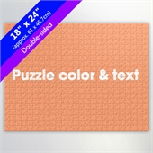 Create Own 18X24 Double Sided Jigsaw For Resell