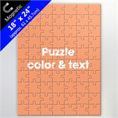 Magnetic Puzzle 18X24 Inch With Color And Text For Corporate Use