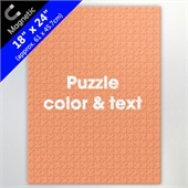Personalized 18X24 Inch Magnetic Puzzle For Retail