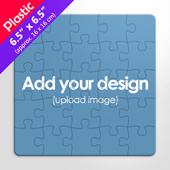 Square Plastic Puzzle 7X7 Inches