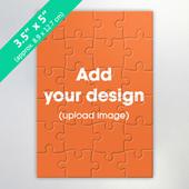 Custom Mini Jigsaw Puzzle Card