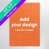 Two Sided Personalized Small Jigsaw Puzzle