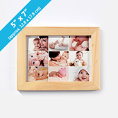 Wood Puzzle Frame For 5X7 Inches