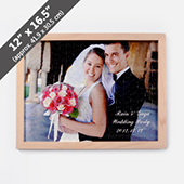 Wood Puzzle Frame For 12X16.5 Inches