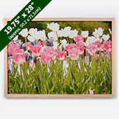Wood Puzzle Frame For 19.75X28 Inches
