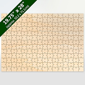 Blank Large 208 Pieces Wooden Puzzle