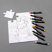 Custom Crayon Puzzle 8X10 Inch 100 Piece Landscape