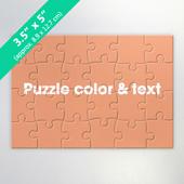 Custom 24 Pieces Invitation Puzzle