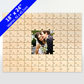Personalized Middle Piece Painted Puzzle 99 Pieces