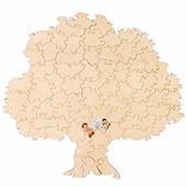Custom Tree Shaped Guest Book Puzzle 70 Piece (UV Print)