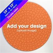 Custom Double-sided 19 inch Round Puzzle 300 pcs
