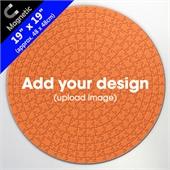 Custom Magnetic 19 inch Round Puzzle 300 pcs