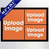 Black Three Collage 29.5 x 38.5 Inch