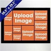 Black Nine Collage 29.5 x 38.5 Inch