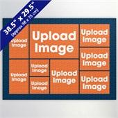 Navy Nine Collage 29.5 x 38.5 Inch