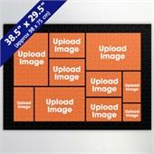 Black Ten Collage 29.5 x 38.5 Inch