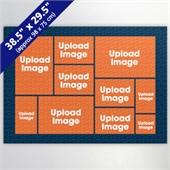 Navy Ten Collage 29.5 x 38.5 Inch
