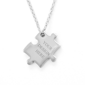 Puzzle Necklace Custom 1 Side