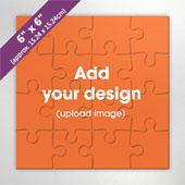 6 Inch Square Invitation Puzzle