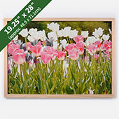 Wood Puzzle Frame For 19.25X28 Inches