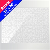 Clear 18x24 Acrylic Puzzle (500 Pieces)
