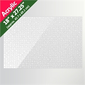 Clear 18x27.25 Acrylic Puzzle (1000 Pieces)