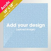 Custom 18x18 inch Square Acrylic Puzzle 650pcs
