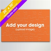 Custom Double-sided 20x30 Inch 24 Pieces Puzzle
