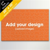 Custom Magnetic 20x30 Inch 100 Pieces Puzzle