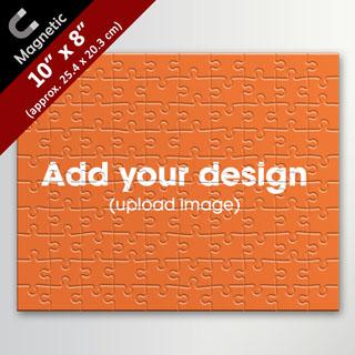 Custom 10X8 Inch Magnetic Photo Puzzle