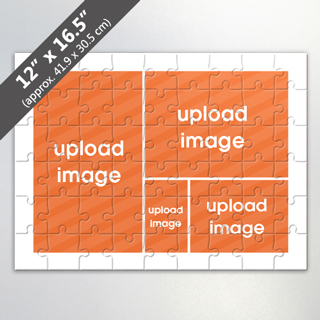 Design Own 4 Image Jigsaw Puzzle