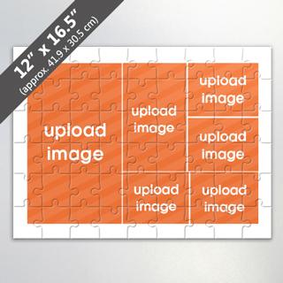 Custom Photo Collage Puzzle