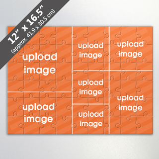 Design Own 7 Photo Collage Puzzle