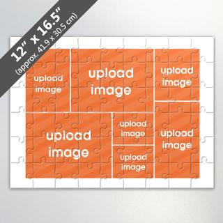 Custom 7 Image Jigsaw Puzzle