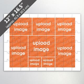 Custom 8 Image Jigsaw Puzzle