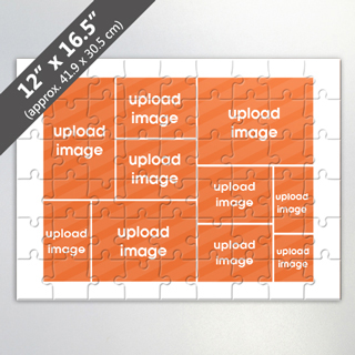 Design Own Personalized Photo Collage Puzzle