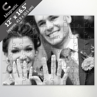 Design Own Magnetic Puzzle For Wedding