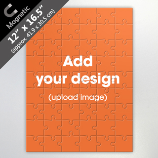 Design Own 54 Piece Magnetic Jigsaw Puzzle