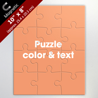 Make Your Own 8X10 Inch Magnet Puzzle
