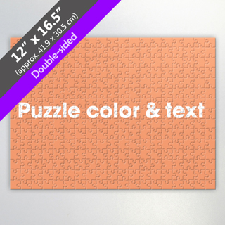 Double Sided Custom Puzzle For Wholesale
