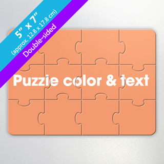 Design Own Two Sided Puzzle For Corporate Gift