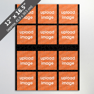 Create Own 12 Image Jigsaw Puzzle